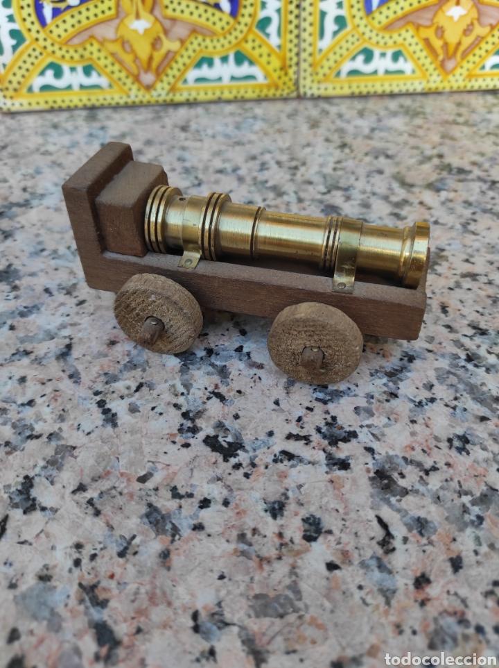 Modelos a escala: Cañón en bronce y madera - Foto 2 - 279502683