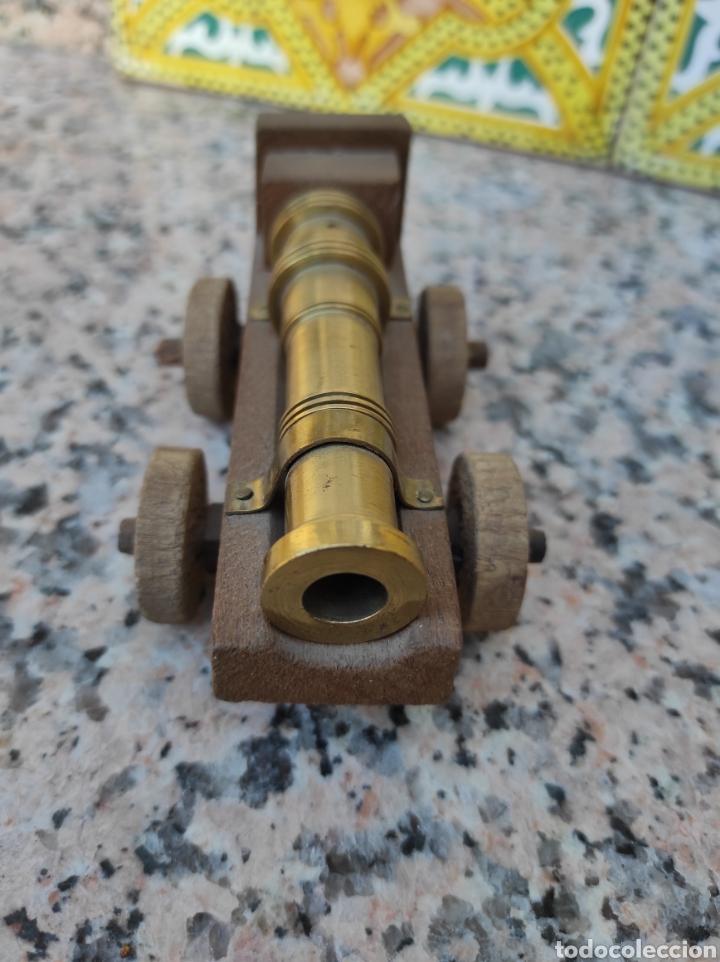 Modelos a escala: Cañón en bronce y madera - Foto 3 - 279502683