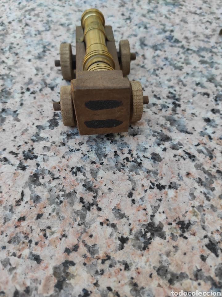 Modelos a escala: Cañón en bronce y madera - Foto 5 - 279502683