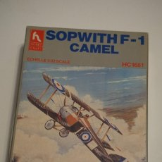 Modelos a escala: SOPWITH F1 CAMEL - PRIMERA GUERRA MUNDIAL 1:32. Lote 280437253