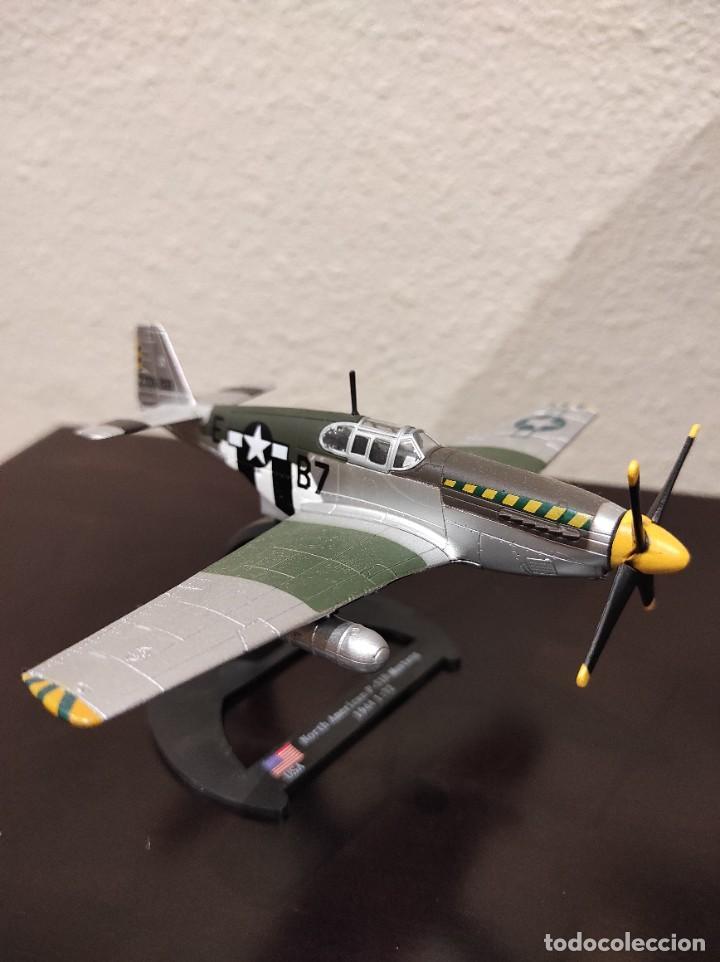 NORTH AMERICAN P-51B MUSTANG 1944 - 1:72 - WWII AVIÓN (Juguetes - Modelos a escala)