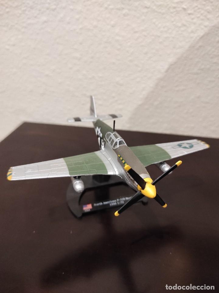 Modelos a escala: NORTH AMERICAN P-51B MUSTANG 1944 - 1:72 - WWII AVIÓN - Foto 2 - 288624593