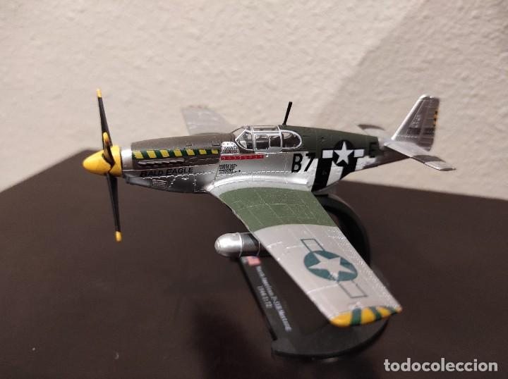 Modelos a escala: NORTH AMERICAN P-51B MUSTANG 1944 - 1:72 - WWII AVIÓN - Foto 3 - 288624593