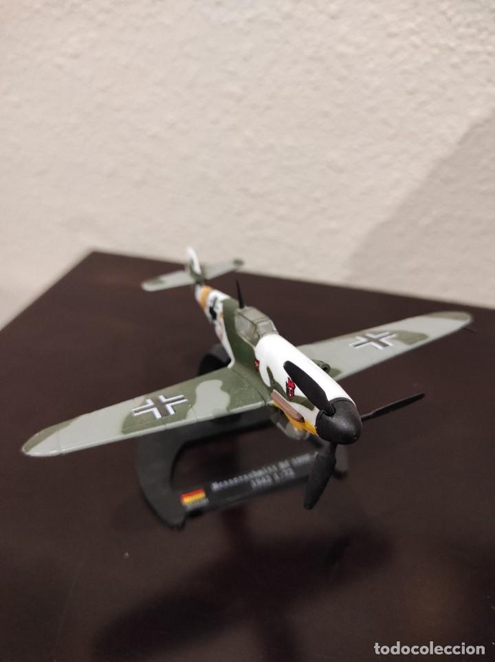 Modelos a escala: MESSERSCHMITT BF 109F-4 1942 - 1:72 - WWII AVIÓN - Foto 2 - 288625483
