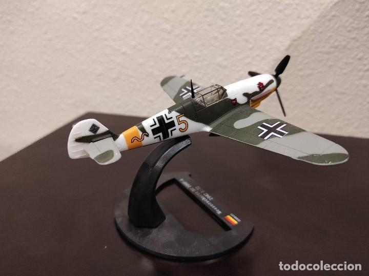 Modelos a escala: MESSERSCHMITT BF 109F-4 1942 - 1:72 - WWII AVIÓN - Foto 3 - 288625483