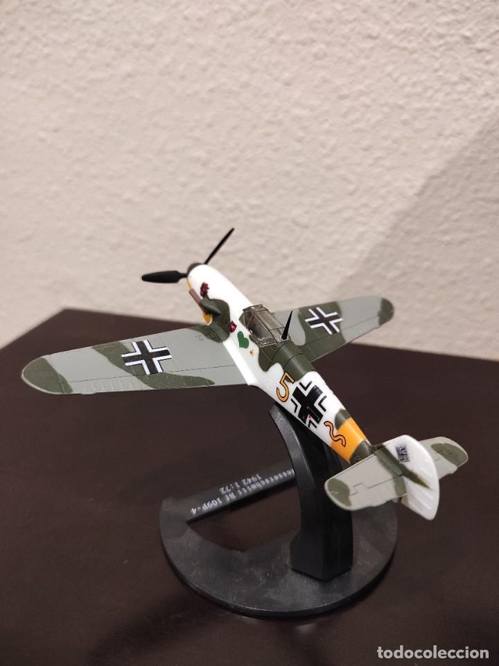 Modelos a escala: MESSERSCHMITT BF 109F-4 1942 - 1:72 - WWII AVIÓN - Foto 4 - 288625483
