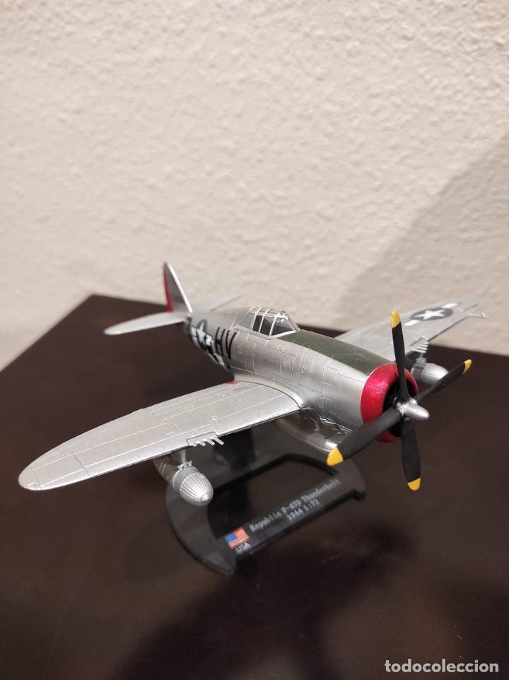 REPUBLIC P-47D THUNDERBOLT 1944 - 1:72 - WWII AVIÓN (Juguetes - Modelos a escala)