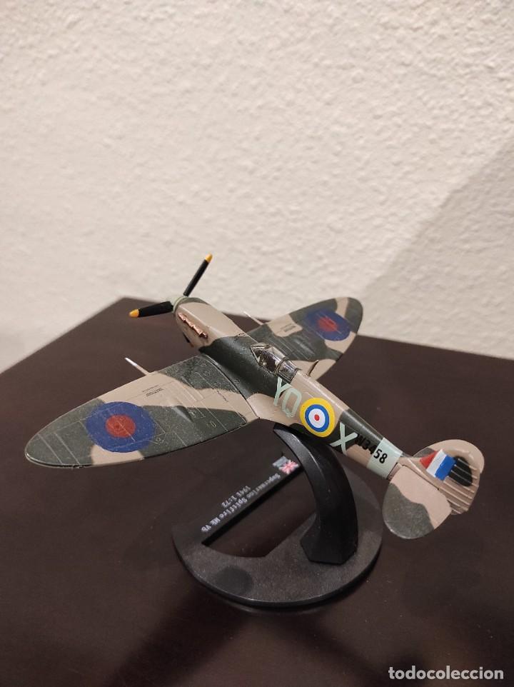 Modelos a escala: SUPERMARINE SPITFIRE MK VB 1941 - 1:72 - WWII AVIÓN - Foto 3 - 288626993