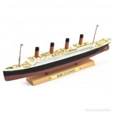 Modelli in scala: RMS TITANIC TRANSATLÁNTICO 1:1250 OCEAN LINERS BARCO ATLAS DIECAST. Lote 290361913