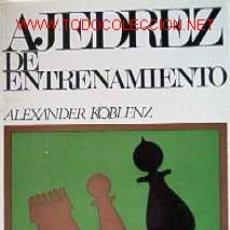 Coleccionismo deportivo: AJEDREZ DE ENTRENAMIENTO. Lote 20721183