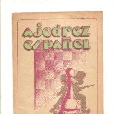 Coleccionismo deportivo: AJEDREZ ESPAÑOL – REVISTA MENSUAL – Nº 96. Lote 25430104