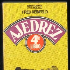 Coleccionismo deportivo: CUARTO LIBRO DE AJEDREZ (A-AJD-226). Lote 18113024