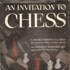 Coleccionismo deportivo: AN INVITATION TO CHESS (A-AJD-233). Lote 17375114