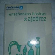 Coleccionismo deportivo: ENSEÑANZAS BASICAS DE AJEDREZ. Lote 23690327