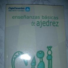 Coleccionismo deportivo: ENSEÑANZAS BASICAS DE AJEDREZ DE NIEVES GARCIA VICENTE. Lote 26374201