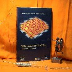 Coleccionismo deportivo: AJEDREZ. PROBLEMAS DE ESTRATEGIA. APERTURAS CERRADAS - ALFONSO ROMERO/AMADOR GONZÁLEZ. Lote 26806809
