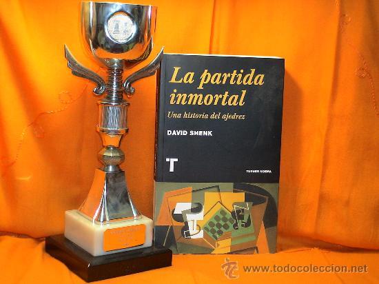 LA PARTIDA INMORTAL. UNA HISTORIA DEL AJEDREZ - DAVID SHENK (Coleccionismo Deportivo - Libros de Ajedrez)