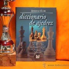 Coleccionismo deportivo: DICCIONARIO DE AJEDREZ - ANTONIO GUDE. Lote 95806315