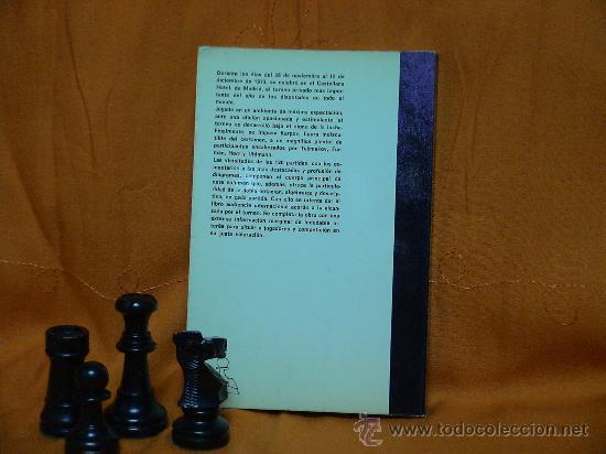 Coleccionismo deportivo: Ches. VIII Gran Torneo Internacional de ajedrez de Madrid 1973 - Libro Ofi del Torn DESCATALOGADO!!! - Foto 3 - 26972159