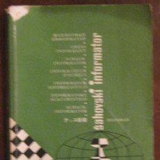 Coleccionismo deportivo: AJEDREZ. CHESS INFORMATOR.TOMO XXVI. BEOGRAD 1979.. Lote 26980660