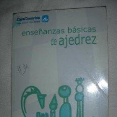 Coleccionismo deportivo: ENSEÑANZAS BASICAS DE AJEDREZ. Lote 27024766
