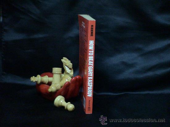 Coleccionismo deportivo: Ajedrez. Chess. How to beat Gary Kasparov - Raymond Keene DESCATALOGADO!!! - Foto 3 - 27035170