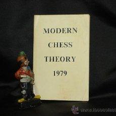 Coleccionismo deportivo: AJEDREZ. MODERN CHESS THEORY 1979. ENCUADERNADO EN TAPA BLANDA. DESCATALOGADO!!!. Lote 27035246
