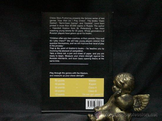 Coleccionismo deportivo: Ajedrez. How Well Do I Play Chess. Test Games. Semi-Open Games - Vsevolod Kostrov DESCATALOGADO!!! - Foto 3 - 27224766