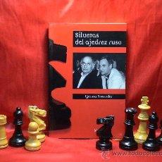 Coleccionismo deportivo: SILUETAS DEL AJEDREZ RUSO - GENNA SOSONKO DESCATALOGADO!!!. Lote 27244498
