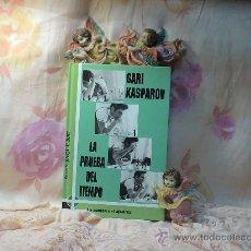 Coleccionismo deportivo: AJEDREZ. LA PRUEBA DEL TIEMPO - GARI KASPAROV DESCATALOGADO. Lote 77454803