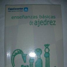 Coleccionismo deportivo: ENSEÑANZAS BASICAS DE AJEDREZ. Lote 27455260