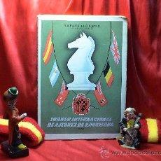Coleccionismo deportivo: TORNEO INTERNACIONAL DE AJEDREZ DE BARCELONA 1946 - RAFAEL LLORENS DESCATALOGADO!!!. Lote 29799358