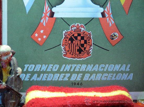 Coleccionismo deportivo: Torneo Internacional de Ajedrez de Barcelona 1946 - Rafael Llorens DESCATALOGADO!!! - Foto 2 - 29799358