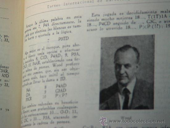 Coleccionismo deportivo: Torneo Internacional de Ajedrez de Barcelona 1946 - Rafael Llorens DESCATALOGADO!!! - Foto 5 - 29799358