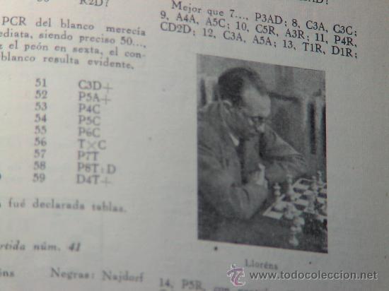 Coleccionismo deportivo: Torneo Internacional de Ajedrez de Barcelona 1946 - Rafael Llorens DESCATALOGADO!!! - Foto 7 - 29799358