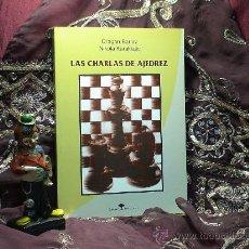 Coleccionismo deportivo: LAS CHARLAS DE AJEDREZ - DRAGAN BARLOV/NIKOLA KARAKLAJIC DESCATALOGADO!!!. Lote 41109279