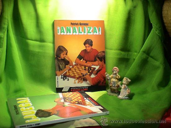 AJEDREZ. ¡ANALIZA! - PATRICK GONNEAU DESCATALOGADO!!! (Coleccionismo Deportivo - Libros de Ajedrez)