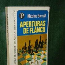 Coleccionismo deportivo - APERTURAS DE FLANCO, de MAXIMO BORRELL - 27811671