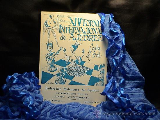XIV TORNEO INTERNACIONAL DE AJEDREZ COSTA DEL SOL 1974 DESCATALOGADO!!! (Coleccionismo Deportivo - Libros de Ajedrez)