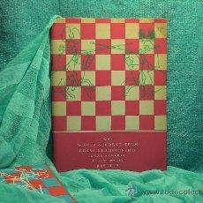 Coleccionismo deportivo: AJEDREZ. XIXTH WORLD STUDENT TEAM CHESS CHAMPIONSHIP 1972 - JAROSLAV SAJTAR. Lote 27950410