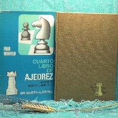 Coleccionismo deportivo: CUARTO LIBRO DE AJEDREZ. APERTURAS DE PEÓN REY Y PEÓN DAMA - FRED REINFELD DESCATALOGADO!!!. Lote 27992593
