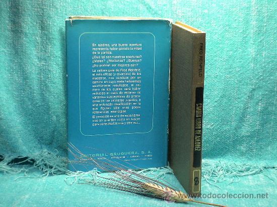Coleccionismo deportivo: Cuarto libro de ajedrez. Aperturas de peón rey y peón dama - Fred Reinfeld DESCATALOGADO!!! - Foto 3 - 27992593
