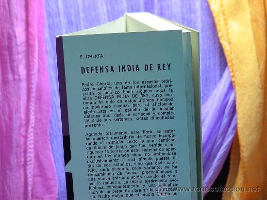 Coleccionismo deportivo: Ajedrez. Chess. Defensa India de Rey - Pedro Cherta DESCATALOGADO!!! - Foto 3 - 287953013
