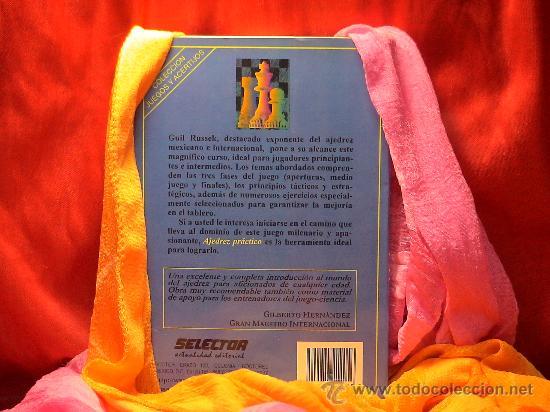 Coleccionismo deportivo: Ajedrez práctico - Guil Russek DESCATALOGADO!!! - Foto 3 - 28119523