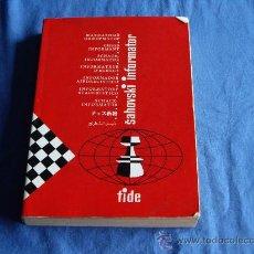 Coleccionismo deportivo: SAHOVSKI INFORMATOR, 1986 Nº 42, LIBRO DE AJEDREZ. Lote 28121781