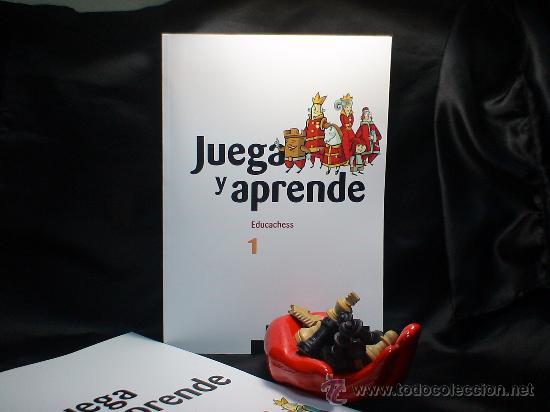 AJEDREZ. JUEGA Y APRENDE. EDUCACHESS 1 - JORDI PRIÓ BURGUÉS/RAMÓN TORRA BERNAT/INMA FARRÉ VILALTA (Coleccionismo Deportivo - Libros de Ajedrez)