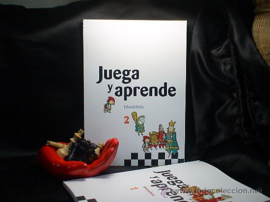 AJEDREZ. JUEGA Y APRENDE. EDUCACHESS 2 - JORDI PRIÓ BURGUÉS/RAMÓN TORRA BERNAT/INMA FARRÉ VILALTA (Coleccionismo Deportivo - Libros de Ajedrez)
