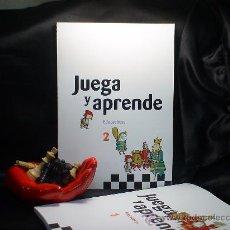 Coleccionismo deportivo: AJEDREZ. JUEGA Y APRENDE. EDUCACHESS 2 - JORDI PRIÓ BURGUÉS/RAMÓN TORRA BERNAT/INMA FARRÉ VILALTA. Lote 28137401