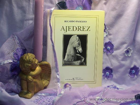 AJEDREZ - RICARDO PASEYRO (Coleccionismo Deportivo - Libros de Ajedrez)