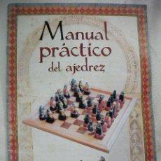 Coleccionismo deportivo: MANUAL PRACTICO DEL AJEDREZ. Lote 48309960
